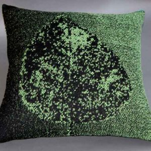 Cushion: Beach leaf design
