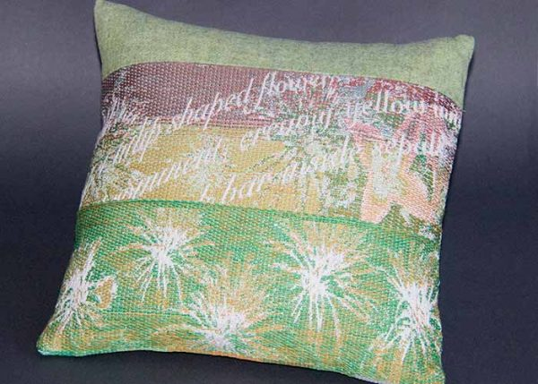 Cushion: Clematis design