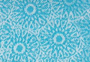 detail of poppy fabric