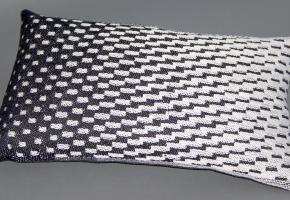 cushion depicting shading satin weaves
