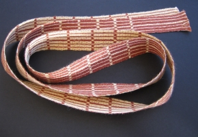 Tablet Woven Tie in Linen