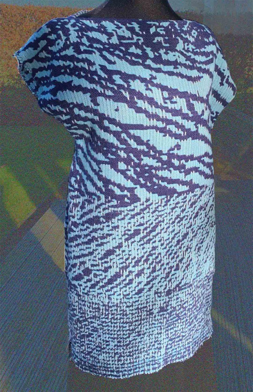 Belinda Rose Weave Fabric For Dress