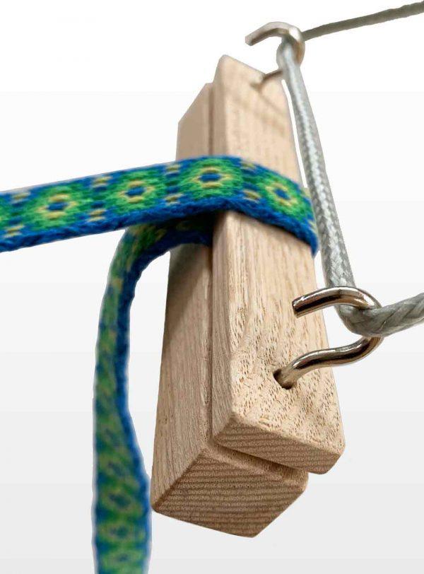 bandlock in use in tablet weaving