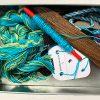 Belinda Rose Weave sea and sand tablet weaving kit