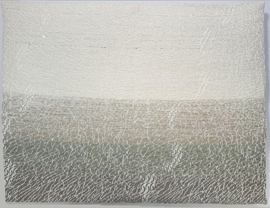 picture of weaving 'Walking on Broken Glass'