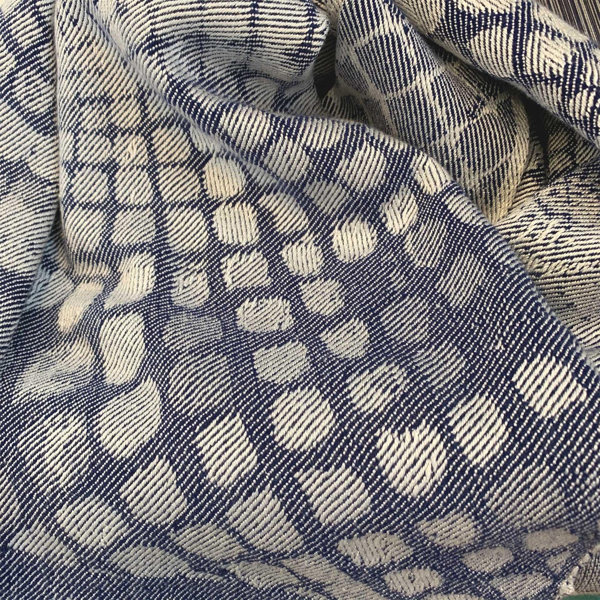 Blue Cobble Fabric